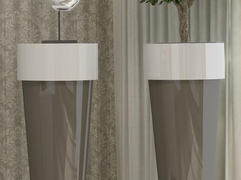 Pedestal column, mod: TROPET