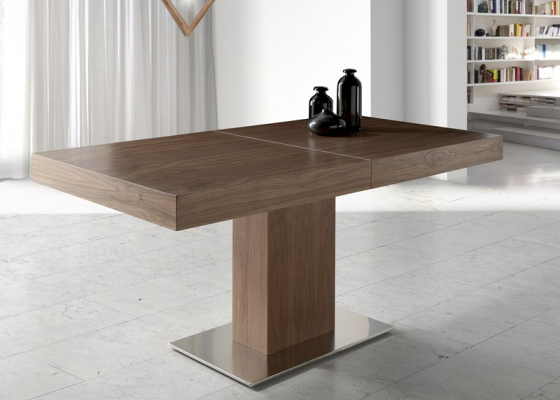 Extensible dining table. Mod. EMERAL