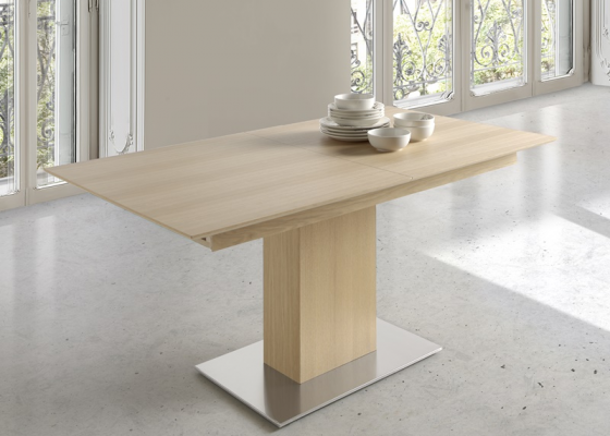 Extensible dining table. Mod. NEW FORMA
