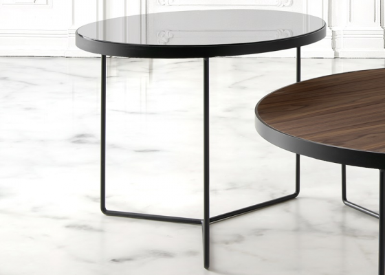 Low coffee table. Mod. TRY ALTA