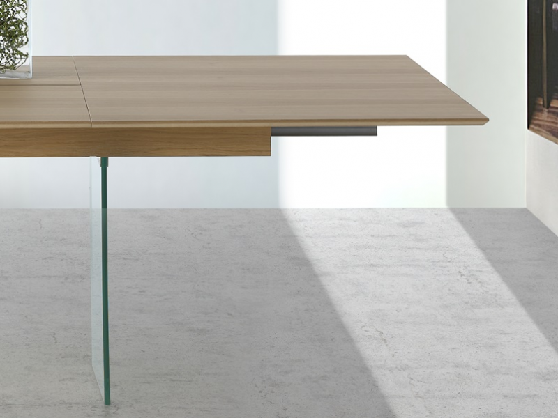 Extensible dining table. Mod. VOLARE
