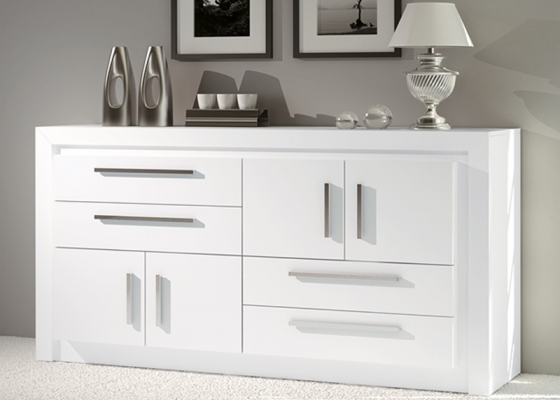 Lacquered sideboard. Mod: TERZO