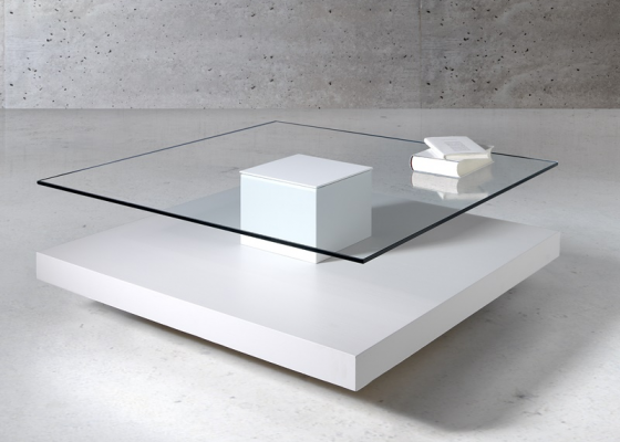 Lacquered low table. Mod. AIR