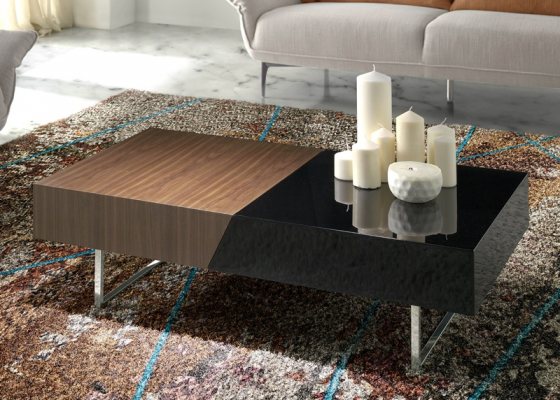 Low coffee table. Mod. BOPOP