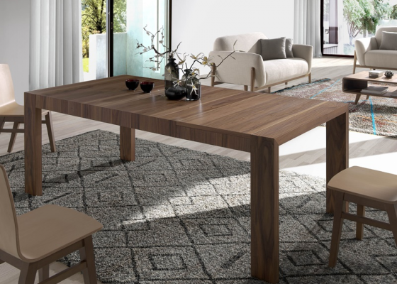 Extensible dining table. Mod. GOB