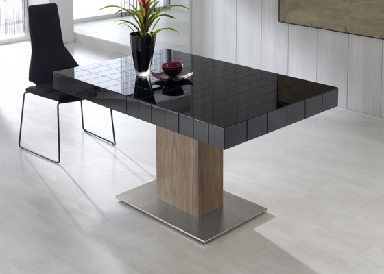Extensible dining table. Mod. TABLET