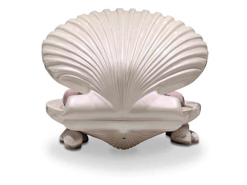 Shell-shaped bed. Mod. LITTLE MERMAID