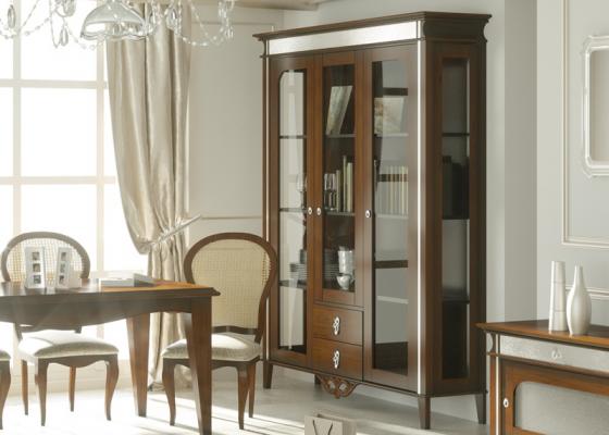 Display cabinet. Mod. QUEEN