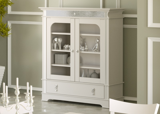 Glass cabinet . Mod.ROYAL1021
