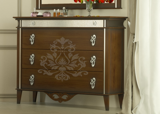 Chest of drawers. Mod.ROYAL2020R
