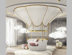 Air balloon bed. Mod. FANTASY AIR BALLOON
