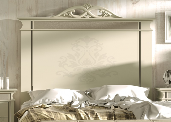 Lacquered headboard. Mod. ROYAL2100