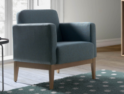 Upholstered armchair. Mod. OMS