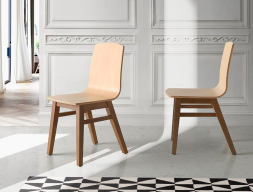 Set of 2 chairs. Mod. GOB