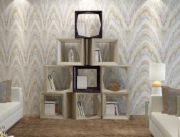 Bookcase, mod: CUBOS