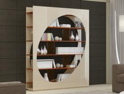 Bookcase, mod: MILANO