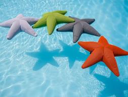 Star shaped pouf. Mod.ETOILE
