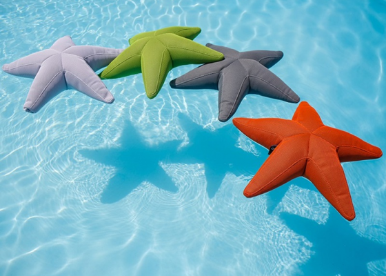 Star shaped pouf. Mod. STAR FISH