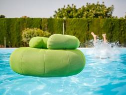 Pouf sofa. Mod. DON OUT