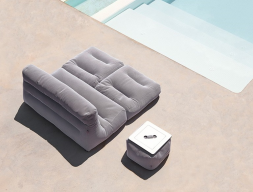 Outdoor bed sofa. Mod. SIT POOL CAMA