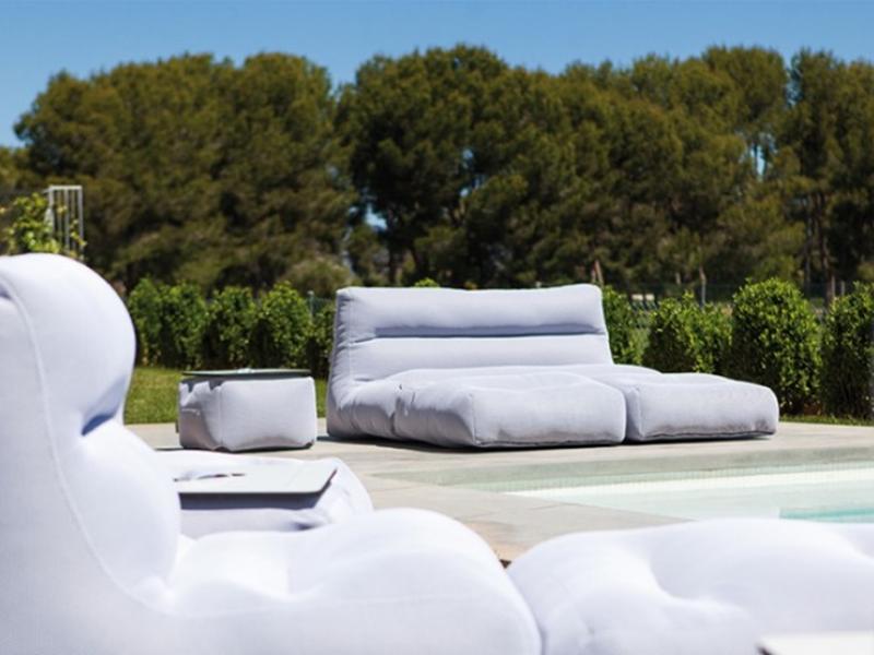 Outdoor bed sofa. Mod. SIT POOL CAMA