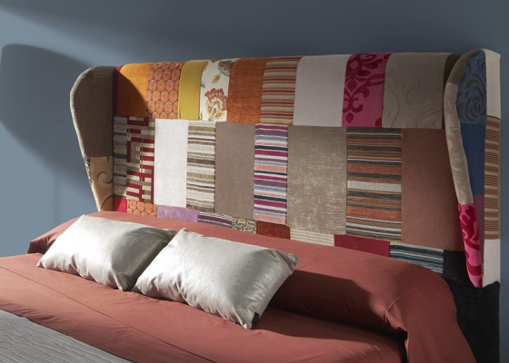 Patchwork headboard. Mod. ALTEA