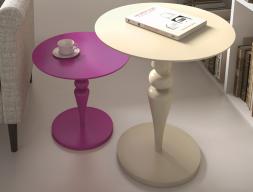 Pedestal table. Mod. MISSO