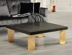 Low coffee table. Mod. GOLD BERLIN