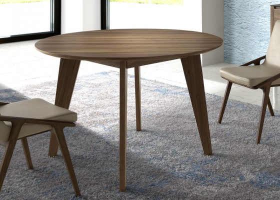Round dining table. MOd. GOB4