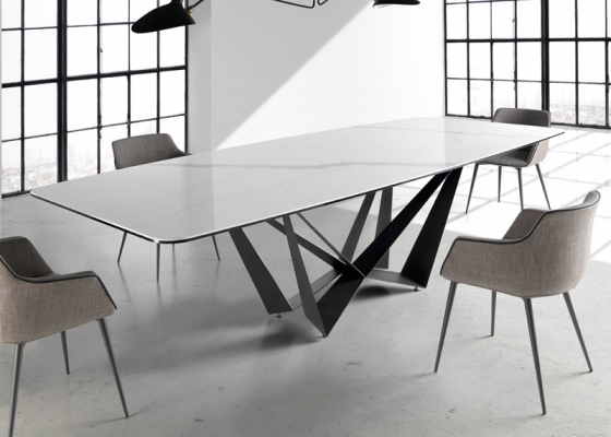 Dining table, mod:FLORENCIA MARMOL