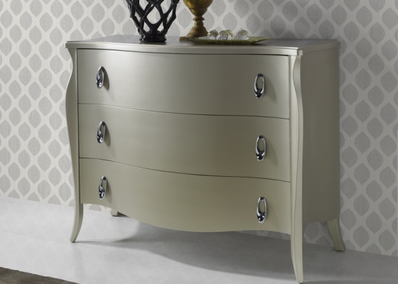 Lacquered chest of drawers. Mod. FRIDA CIDER