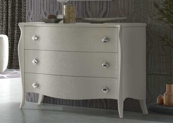 Lacquered chest of drawers. Mod. FRIDA CR
