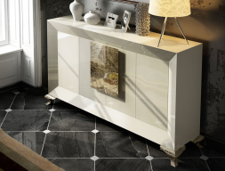 Lacquered sideboard. Mod. CORAL