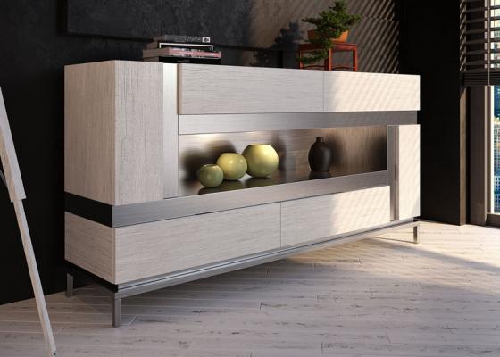 Oak sideboard. Mod. LENNA OAK
