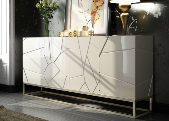Lacquered sideboard. Mod. LEO BIG