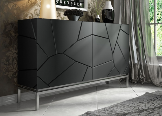 Lacquered sideboard. Mod. LEO