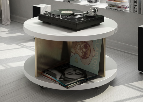 Vinyl record display. Mod. MONTAND