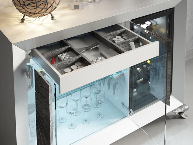 Wine cabinet. Mod: BOURGOGNE
