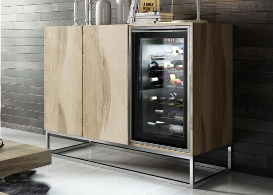 Wine cabinet. Mod: RUEDA