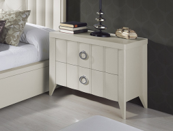 Lacquered bedside tables - set of 2 units. Mod: VIENA B