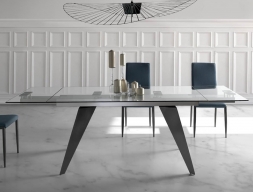 Extendable dining table. Mod. TAVOLO