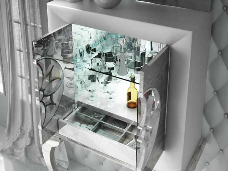 Bar cabinet. Mod. RIOJA
