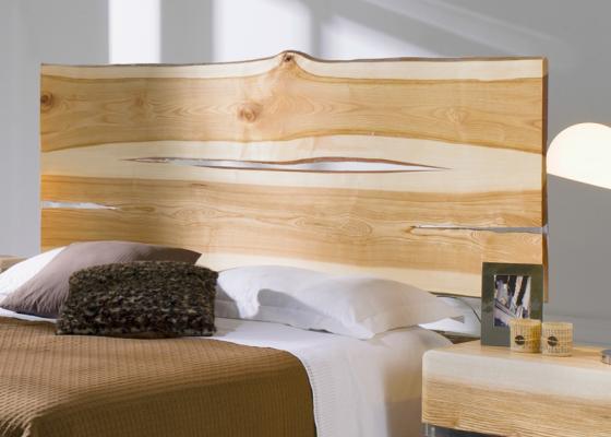 Wood headboard. Mod. AMBAR