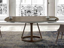 Extendable dining table. Mod. ALICE C