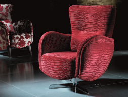 Rotating armchair. Mod: PAPILLON