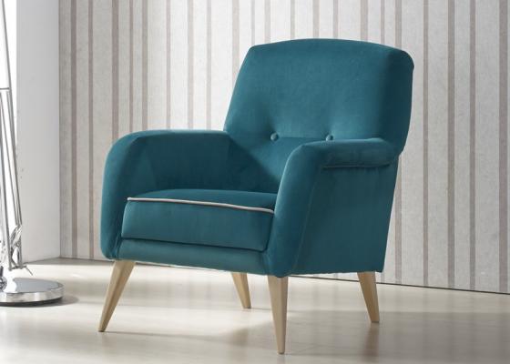 Upholstered armchair. Mod: TORINO