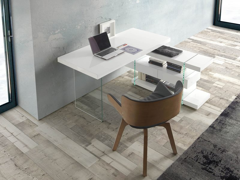 Office desk. Mod. LISBOA WHITE