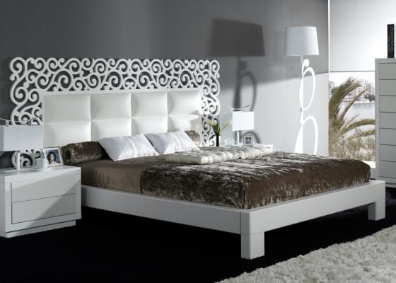 Complete bed. Mod. CASSANDRA BLANCO