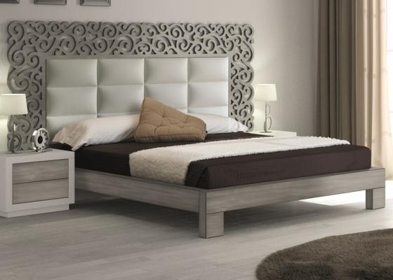 Complete bed. Mod. CASSANDRA PLATA