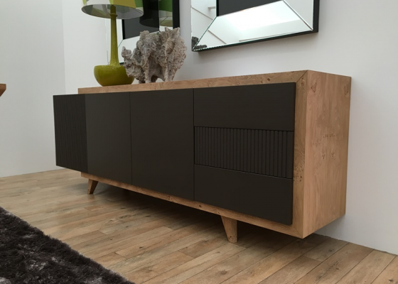 Sideboard with doors and drawers. Mod. LAZIO